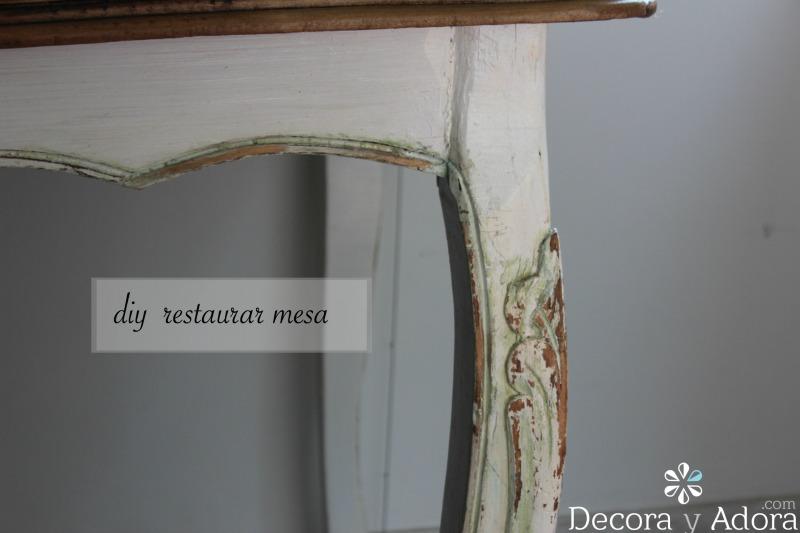 decora y adora: diy restaurar mesa