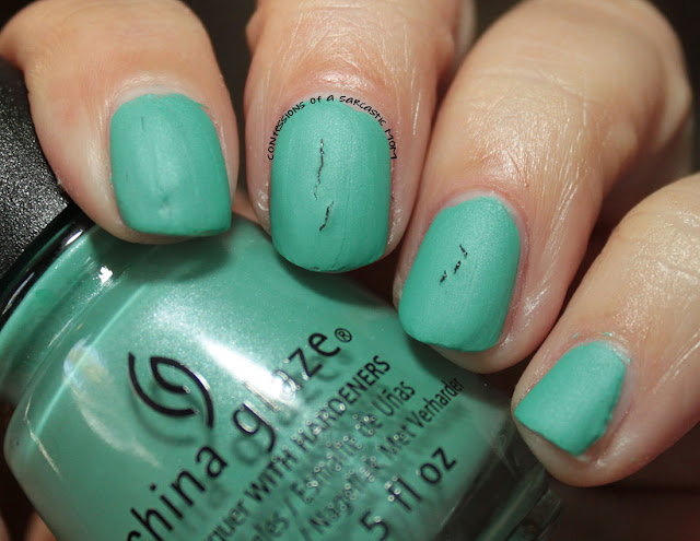 China Glaze Seas and Greetings collection - Patridge in a Palm Tree