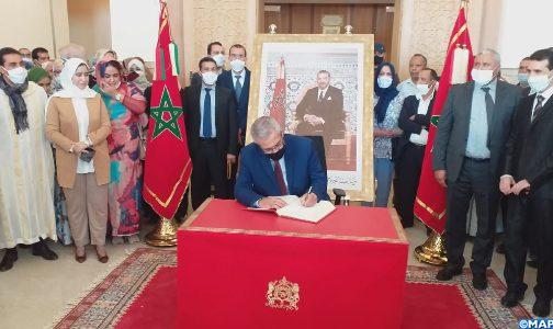 وزير العدل يشرف على تدشين المقر الجديد للمحكمة الابتدائية بالسمارة