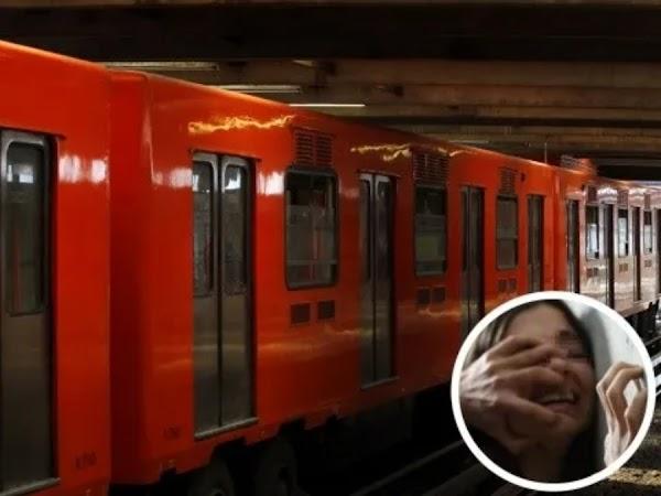 «Me contrataron para secuestrarte», así trataron de raptar a una joven en el Metro (VIDEO)