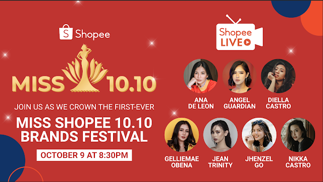 Support Your Favorite Influencers at Shopee's first-ever Pageant,  Miss Shopee 10.10 Brands Festival