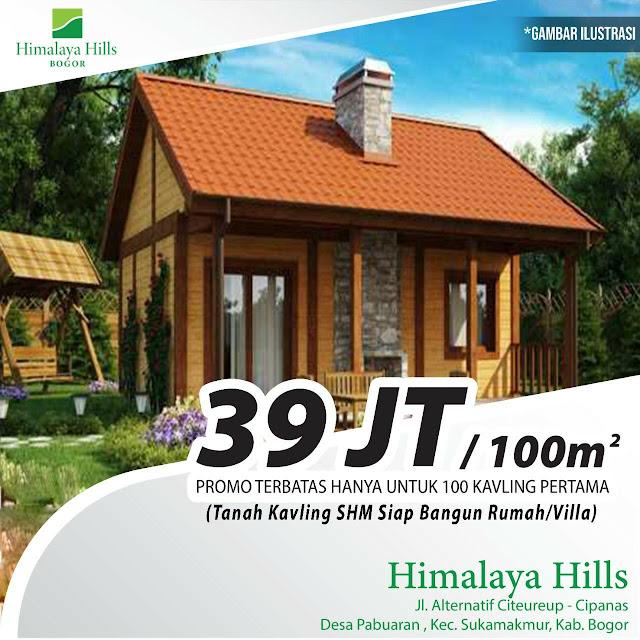 Himalaya hills, kavling syariah siap bangun di citeureup Bogor