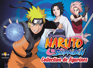 Nouvelle collection de figurines Naruto Shippuden avec Altaya - le magazine