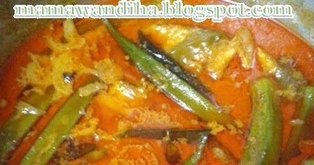 Dari Dapur MaDiHaA: Kari Ikan Ayam @ Ikan Jebong