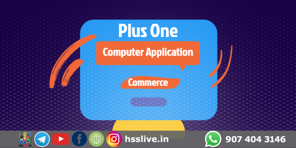Plus one Computer Application Notes