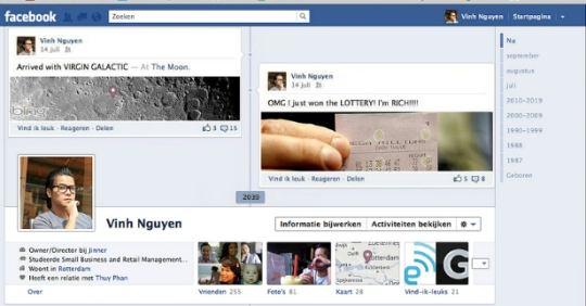 facebook timeline creative profile 7