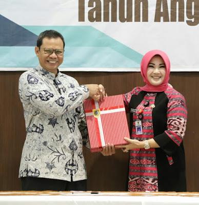 Bupati Sri Mulyani Laporan Keuangan Daerah Tahun Anggaran 2018 Ke BPK Propinsi