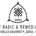 ABU SBRS Mop-Up Entrance Exam Schedule 2018/2019 is Out