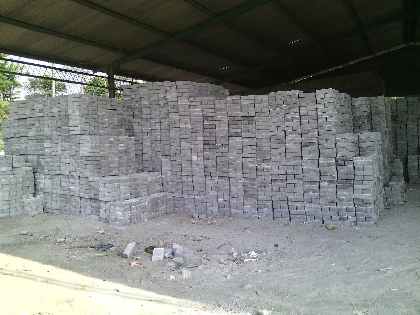 pabrik paving block jombang
