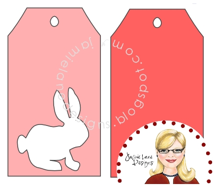Bits of Paper: Easter Tags + SVG/Studio File