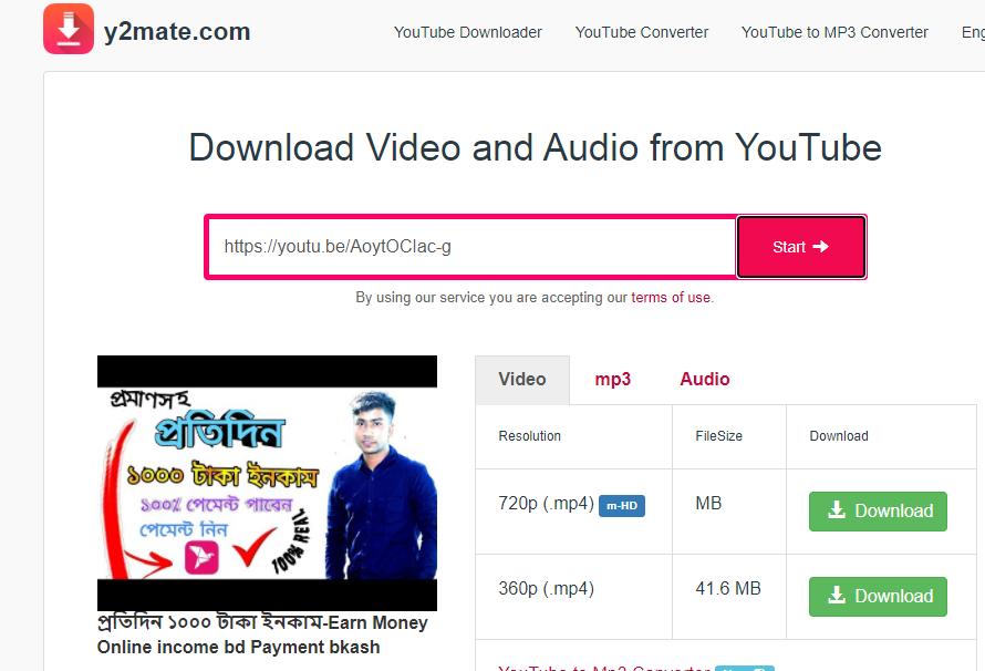 Download YouTube Videos - Youtube Videos Downloader