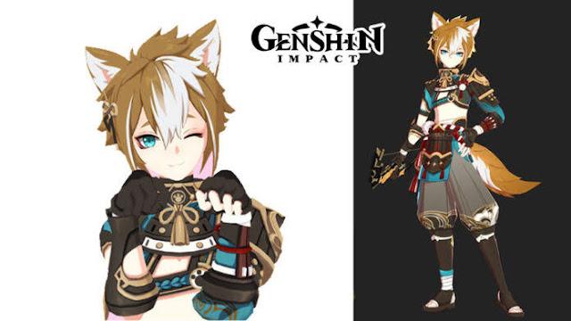 Detail Bocoran Gorou Genshin Impact Karakter Bow Geo