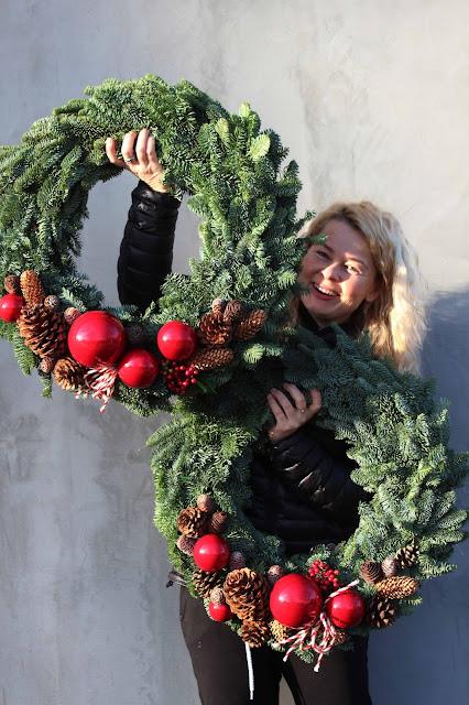 Dekoracje świąteczne dla Małgosi Sochy