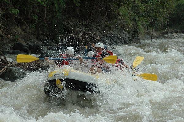 Ubud Ayung River White Water Rafting Bali