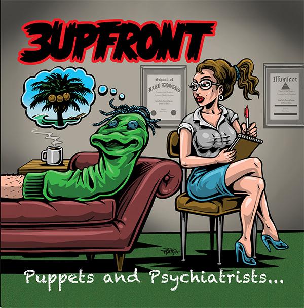 "3upFront stream new album ""Puppets & Psychiatrists"""