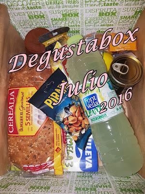 Caja Degustabox Julio ´16
