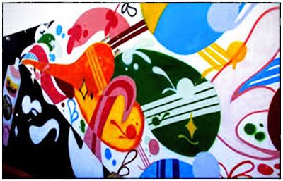 O grafite é a arte urbana que embeleza os espaços públicos nas cidades do Brasil e do Mundo.