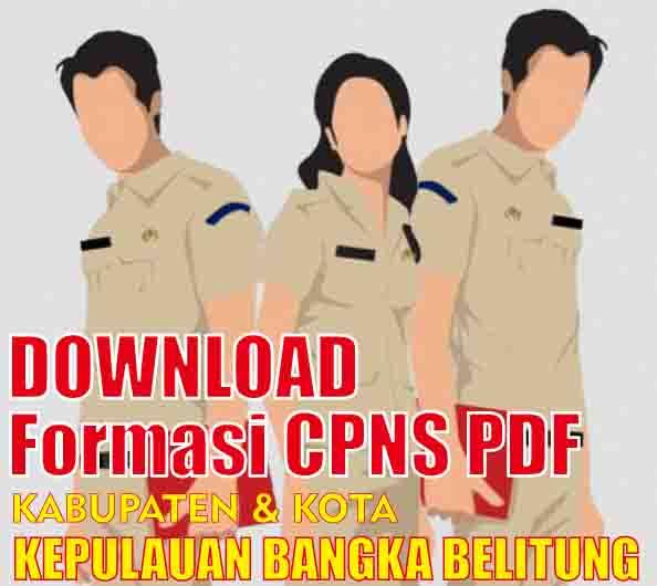 download formasi cpns kepulauan bangka belitung pdf
