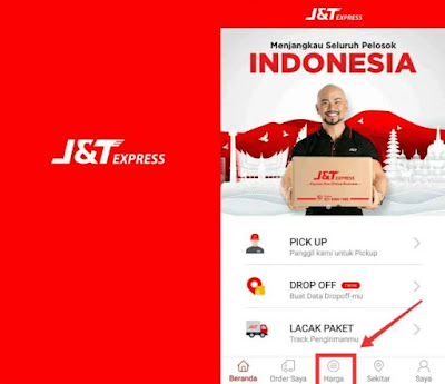 Cek Ongkir J&T Express