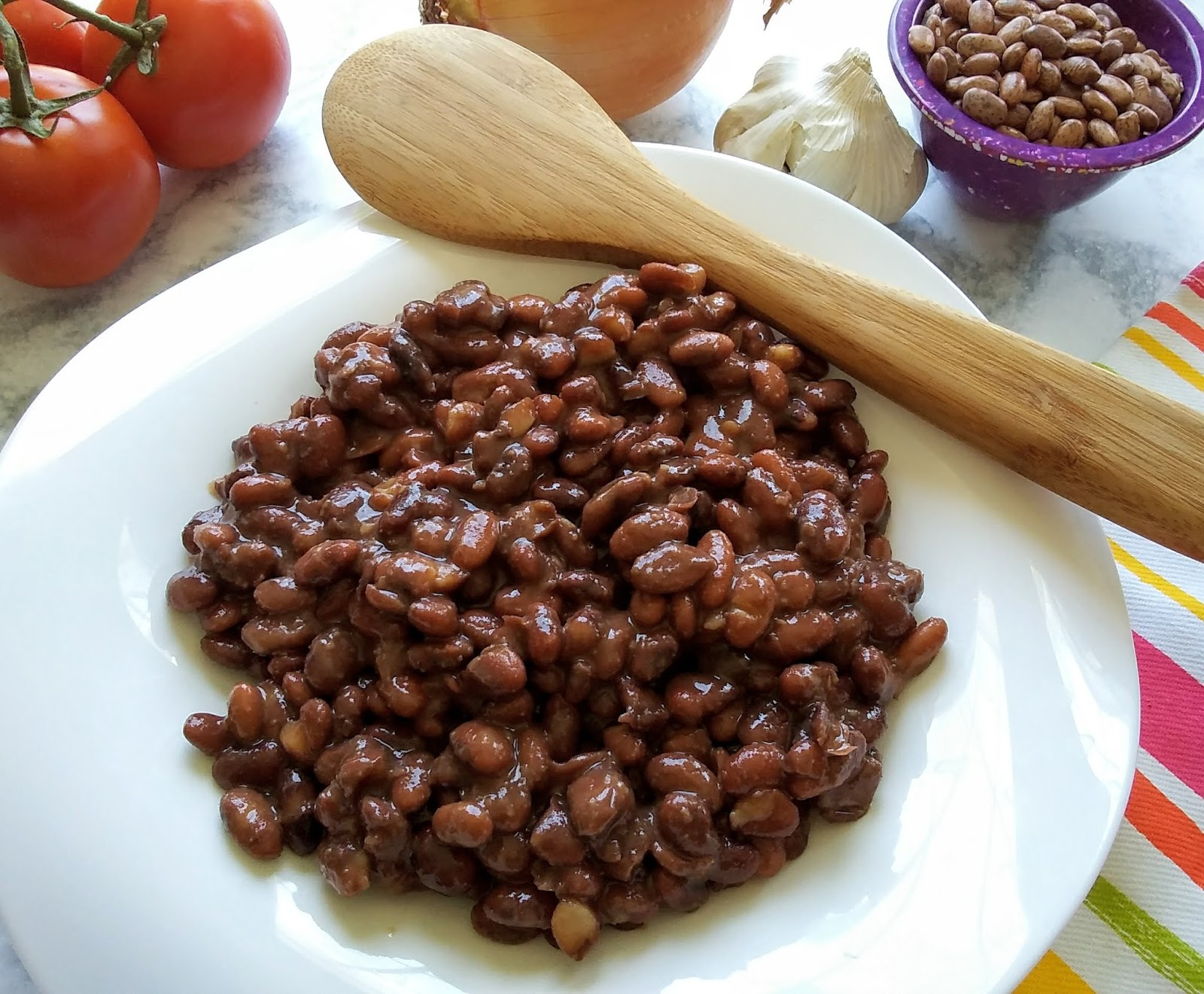 Mom Knows Best Mock Chipotle Pinto Beans Recipe