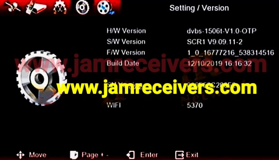 1506T/F SCR 1 LATEST IPTV SOFTWARE 2019 BY JAM RECEIVERS