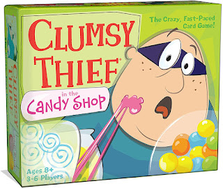 Clumsy Thief in The Candy Shop Math Game