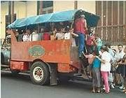 transporte de pasajeros en Cuba en camiones