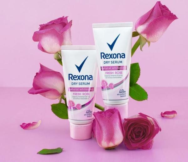Rexona Dry Serum Mencerahkan Ketiak Hitam dan Wangi