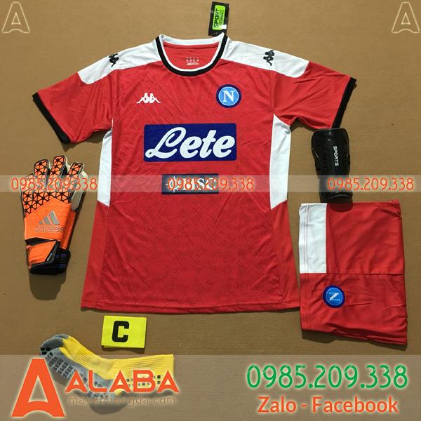Áo Napoli 2020 Training 2 Màu Đỏ