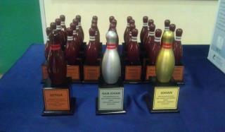 Pertandingan bowling warga BAKA Kontinjen N.Sembilan 2012