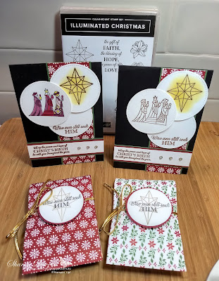 Illuminated Christmas, Sketch challenge, Heart of Christmas, Rhapsody in craft, Christmas card