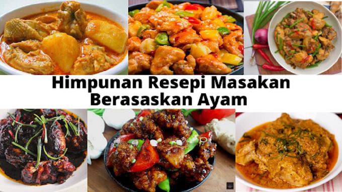 Himpunan Resepi Masakan Berasaskan Ayam