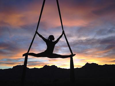 Aerobic gymnastics for burning calories
