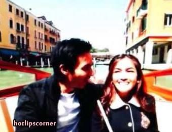 Gambar Romantik Elfira Loy Dan Baim Wong Dilamun Cinta HOTLIPS