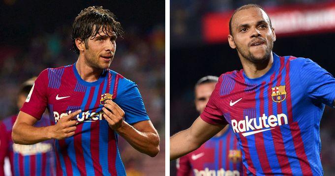Barcelona officially confirm Sergi Roberto and Braithwaite injuries