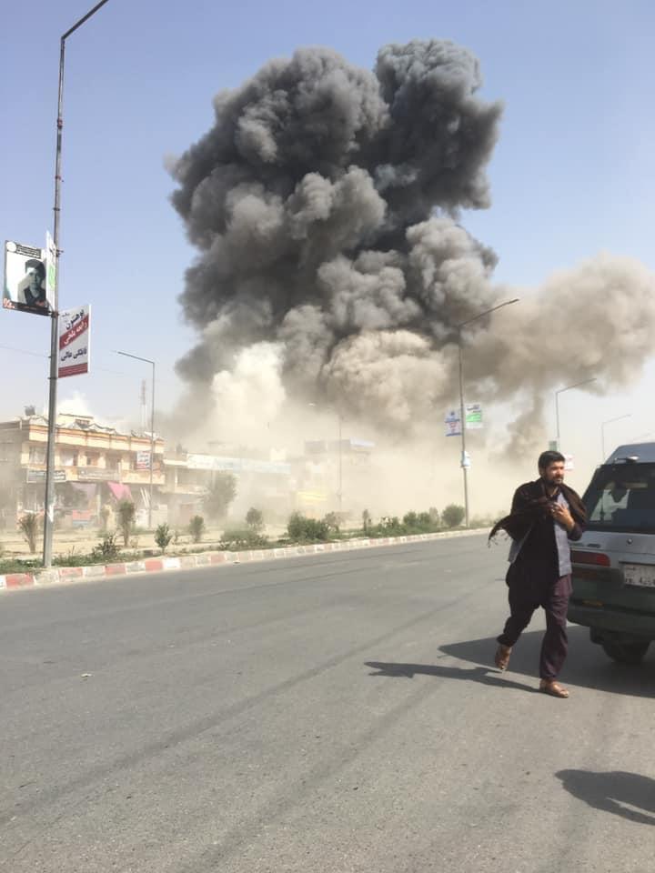 Spēcīgs sprādziens Afganistānas galvaspilsētā Kabulā