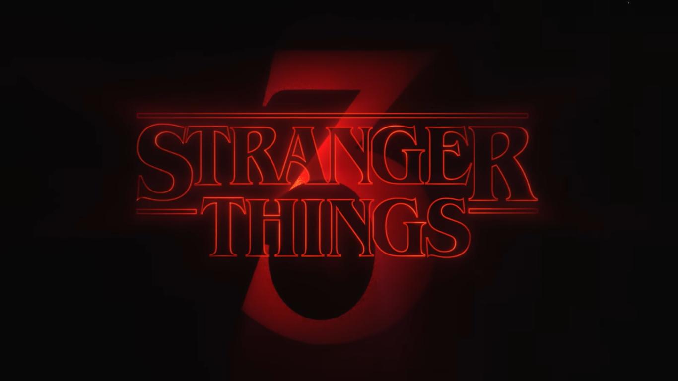 Stranger Things season 1, 2, 3