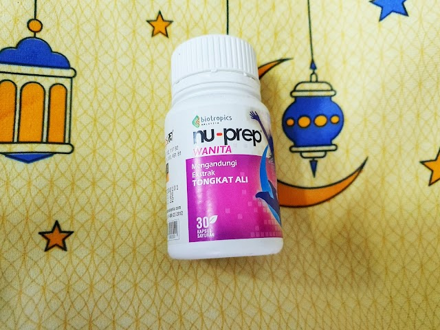 Be More Active with Nu-Prep!