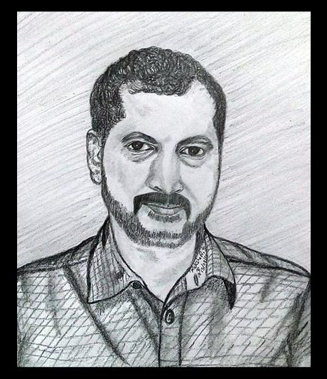 PENCIL DRAWING - NA.MUTHUKUMAR