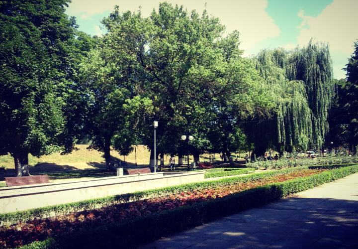 Parcul din Lipova, Judetul Arad