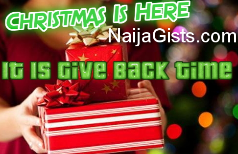 christmas 2016 give back time