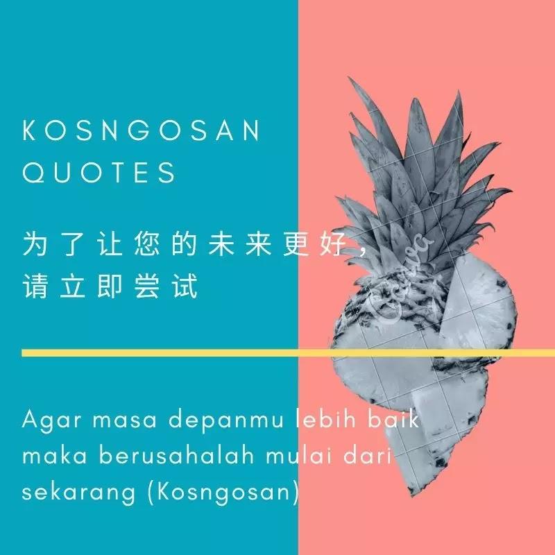 kata mutiara bahasa mandarin