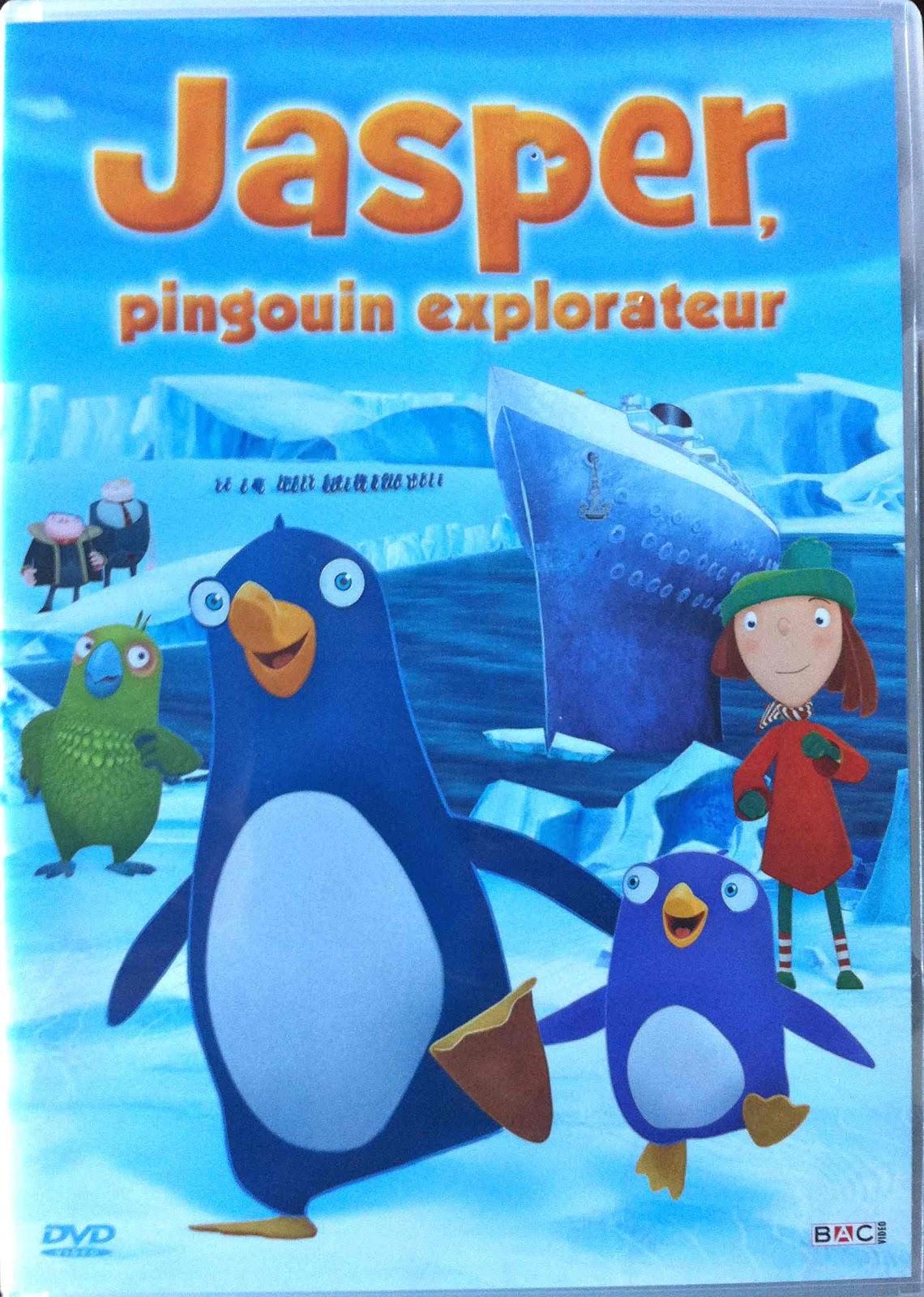 Magic doudou club jasper pingouin explorateur test dvd - Jasper le pingouin ...