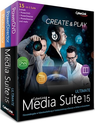 CyberLink Media Suite Ultimate 15.0.0512.0 poster box cover