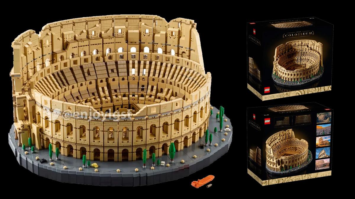 11/27(金)発売!レゴ史上最多9036ピースの10276コロッセオ:ブラックフライデー商戦投入(2020)