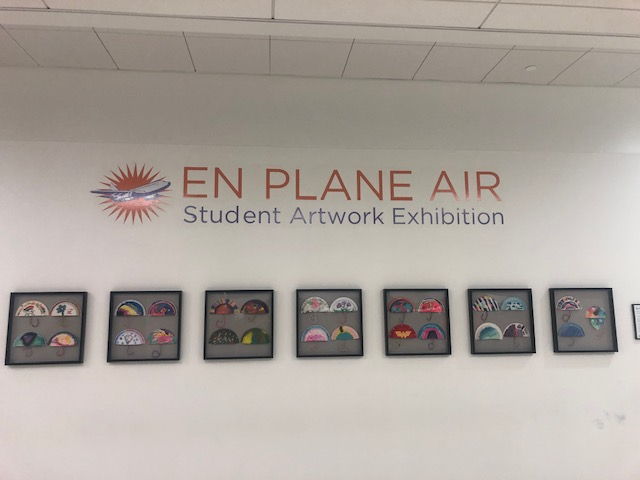 """En Plane Air"" Exhibition at Fort Lauderdale-Hollywood International Airport"
