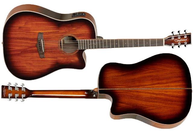 Guitarra electroacústica Tanglewood TW5 Koa