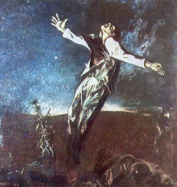 The death of Garcia Lorca by Andrey Andreevich Mylnikov 1979
