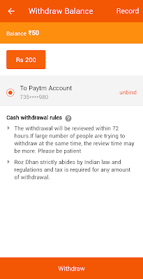 Rozdhan App Earn Money