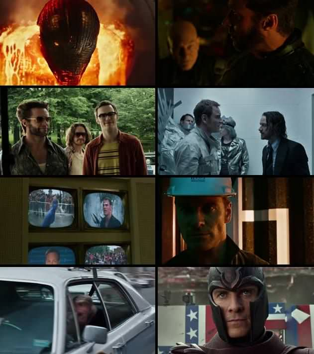 X-Men Days of Future Past 2014 Dual Audio